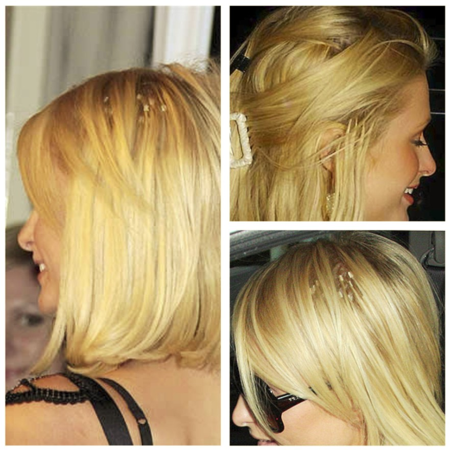 How to rock extensions dont taming your mane paris hilton hair extensions showing pmusecretfo Gallery